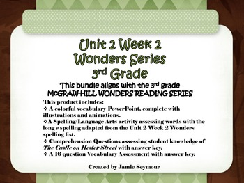 3rd Grade McGraw-Hill Wonders Unit 2 Week 2 Bundle