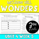 3rd Grade McGraw-Hill Wonders Unit 4 Week 5 Resources