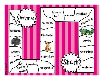 3rd Grade McGraw Hill Wonders Vocabulary Games Unit 2