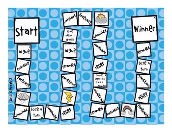 3rd Grade McGraw Hill Wonders Vocabulary Games Unit 6