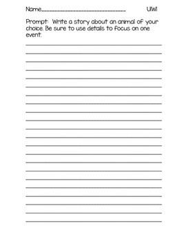 3rd Grade McGraw-Hill Wonders Writing Prompts Unit 1