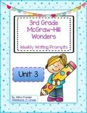 3rd Grade McGraw-Hill Wonders Writing Prompts Unit 3