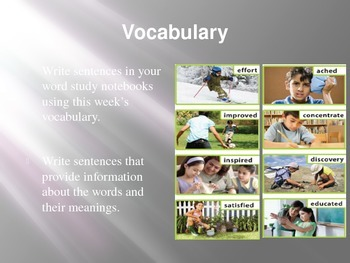 3rd Grade Mcgraw Hill Reading Wonders powerpoint slides for Unit 1 Week 1 Day 4