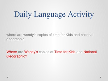 3rd Grade Mcgraw Hill Reading Wonders powerpoint slides for Unit 2 Week 2 Day 4