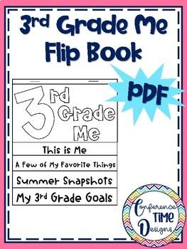 3rd Grade Me Flip Book
