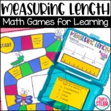3rd Grade Measure Length to the Nearest Half and Quarter Inch Math Game