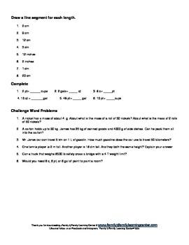 3rd Grade Measurement