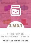 3rd Grade Measurement & Data Worksheet (3.MD.7)