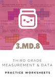 3rd Grade Measurement & Data Worksheet (3.MD.8)