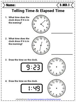 3rd Grade Measurement & Data Worksheets: 3rd Grade Math ...