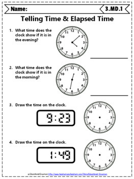 3rd Grade Measurement & Data Worksheets: 3rd Grade Math Worksheets,  Measurement