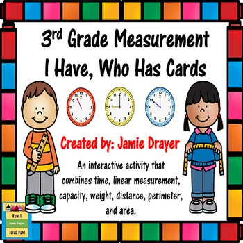 Basic Measurement Standards: I Have, Who Has Cards