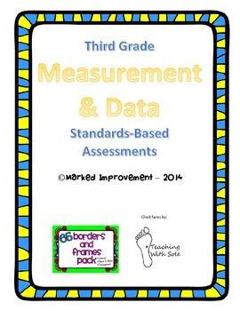 3rd Grade Measurement and Data Common Core Assessments