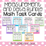3rd Grade Measurement and Data Task Card Bundle | Measurem