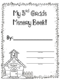 3rd Grade Memory Book - End of the Year