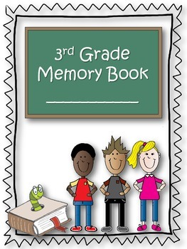 3rd Grade Memory Book {End of the Year} {Freebie}