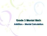 3rd Grade Mental Math - Addition Mental Calculation Strategies
