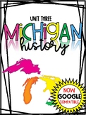 3rd Grade Michigan History Social Studies Distance Learnin