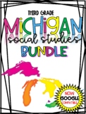 3rd Grade Michigan Social Studies YEAR LONG Distance Learn