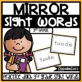 3rd Grade Mirror Sight Words Center