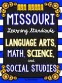 3rd Grade Missouri Learning Standards