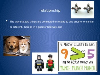3rd Grade Mixed ELAR/Math Vocabulary Power Point Week 2