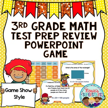 3rd Grade Math PowerPoint Game: Game Show Style