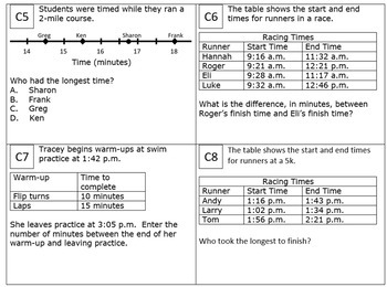 3rd Grade Module 2 Task Cards - Editable