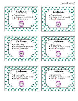 3rd Grade - Module #2 - Vocabulary Words
