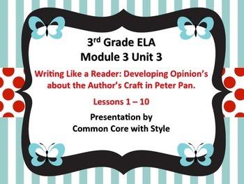 3rd Grade Module 3 Unit 3