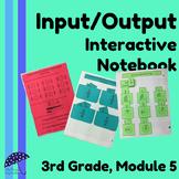 3rd Grade, Module 5 (Fractions) Input/Output Interactive Notebook
