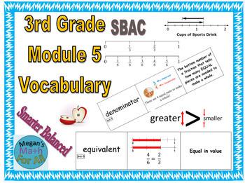 3rd Grade Module 5 Vocabulary - SBAC - Editable