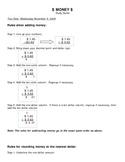 3rd Grade Money Test Study Guide