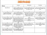 3rd Grade Monthly Reading Log Calendar September 2014