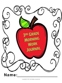 3rd Grade Morning Work Journal
