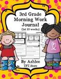 3rd Grade Morning Work Journal Set 1 [first 10 weeks]