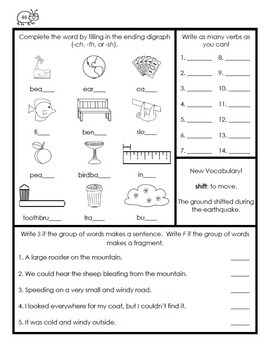 3rd Grade Morning Work Year-Long Bundle {Common Core Aligned}
