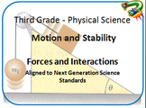 3rd Grade Motion and Stability_Forces and Interactions: Next Generation Aligned