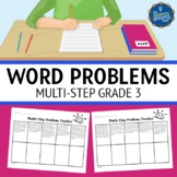 Multi Step Word Problems 3rd Grade