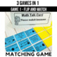 Multiples of Ten Games and Centers 3rd Grade