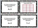3rd Grade Multiplication Array Task Cards
