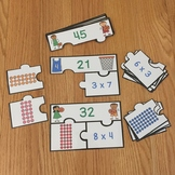 FREE Multiplication Arrays Game Puzzles Array Multiplication Game Grade 3 3.OA.1