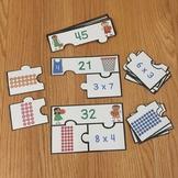 FREE Multiplication Arrays Game Puzzles Array Multiplicati
