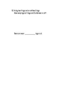 Math In Focus: 3rd Grade, Chapter 6 Multiplication Assessment