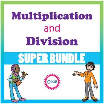 3rd Grade Multiplication & Division Super Bundle (CCSS)