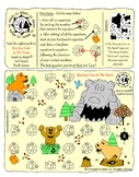 """3rd Grade Multiplication Game """"Bear Jaw Cave/The Honey Bowl"""" Adventure Map!"""