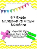 3rd Grade Multiplication Games & Centers - Common Core Aligned