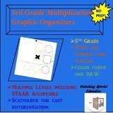 3rd Grade Multiplication Graphic Organizer Bundle