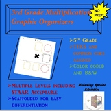 3rd Grade Multiplication Graphic Organizer Bundle