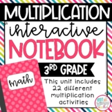 3rd Grade Multiplication Interactive Notebook